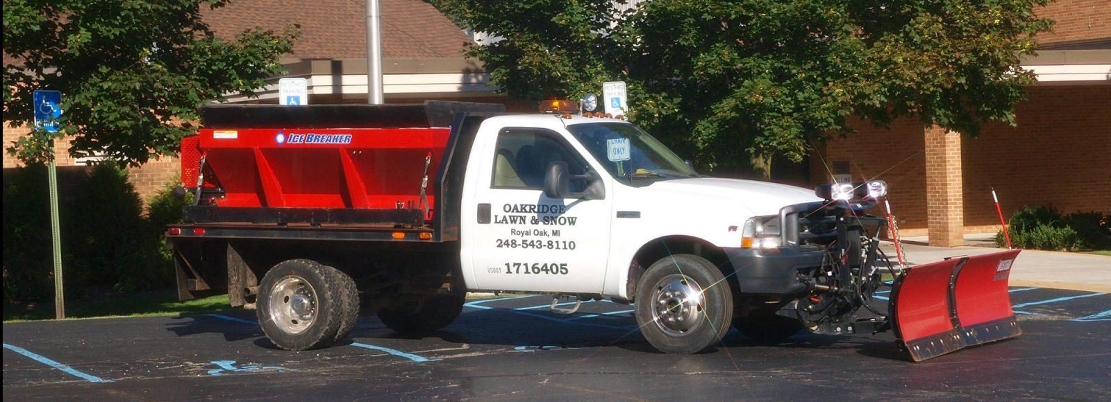 Oakridge Plow Truck